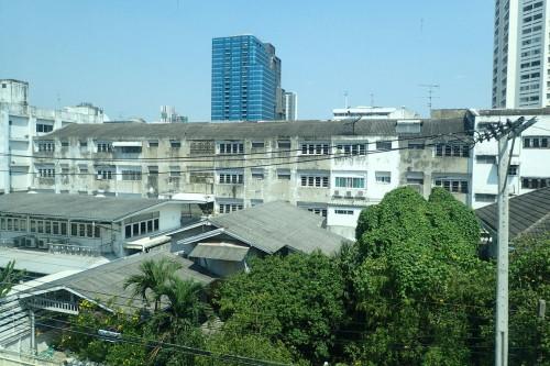 バンコクのサービスアパートメントからの景色