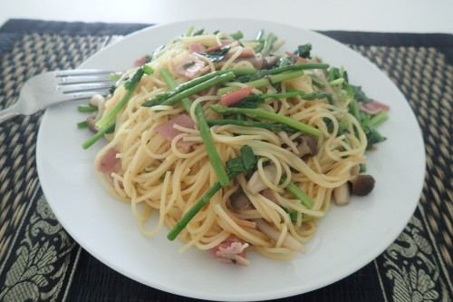 タイ食材のスパゲッティー