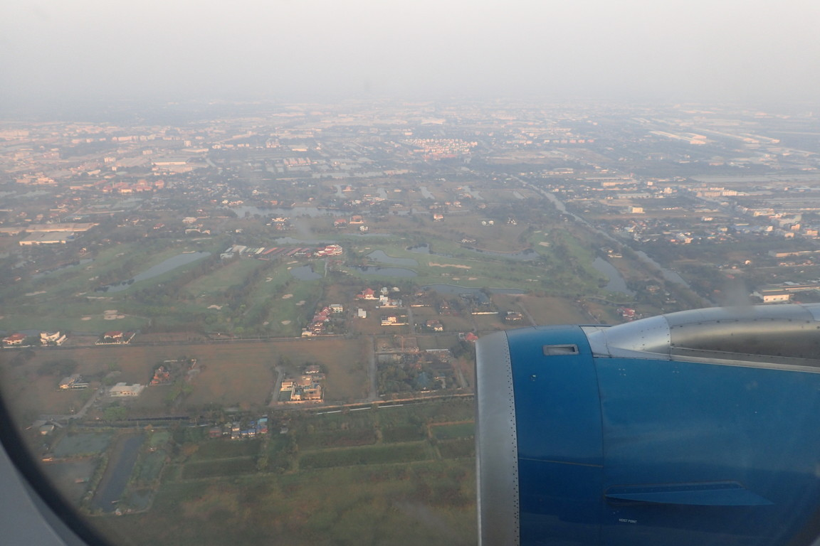バンコクについたぜ!スワンナプーム国際空港