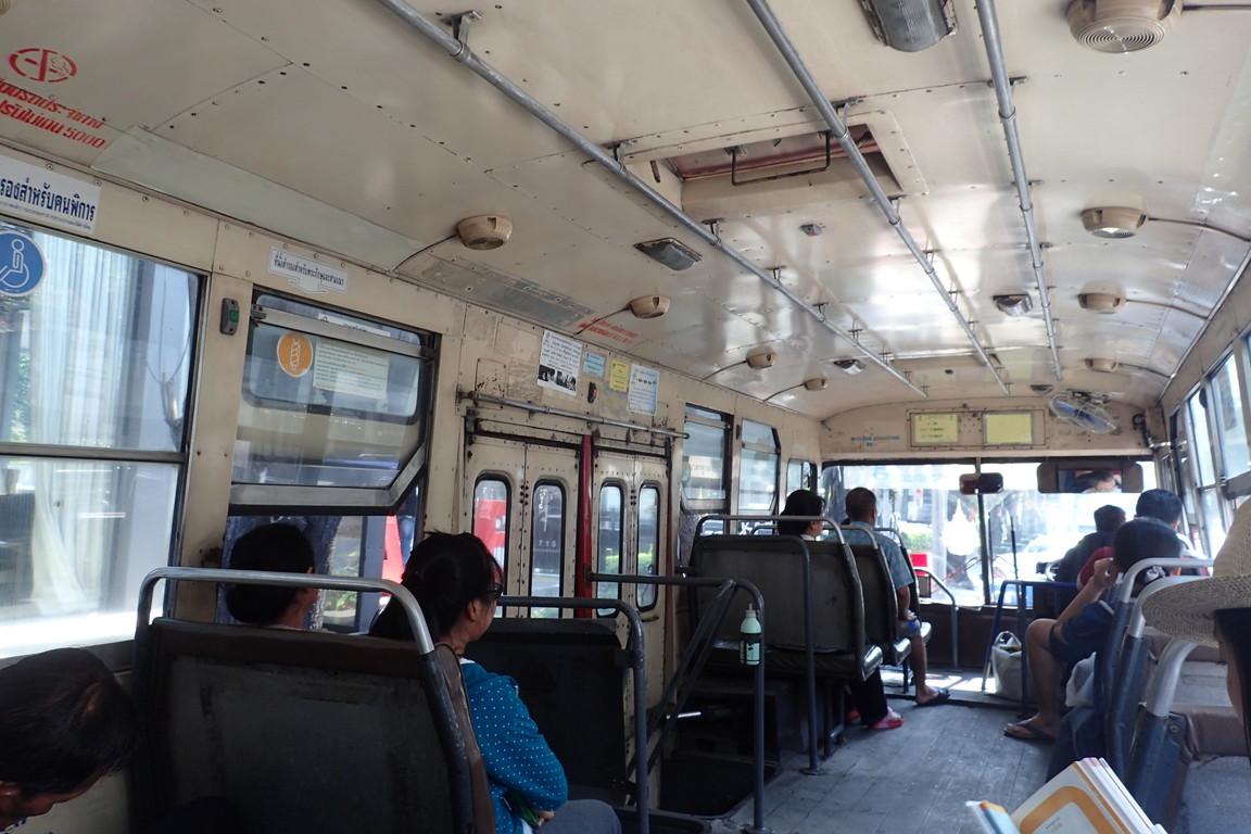 バンコクのバスにタダ乗りする方法wwwバンコクの公共交通機関