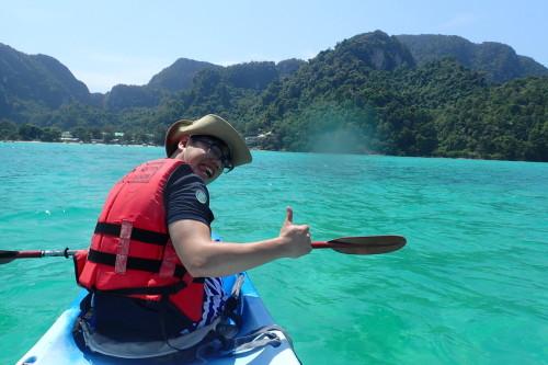 ピピ島 シーカヤック2